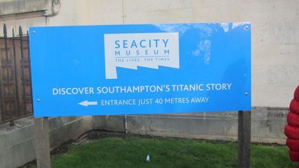 SeaCity Museum Southampton location